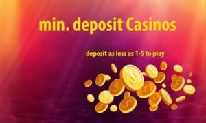$1 minimum deposit casinos
