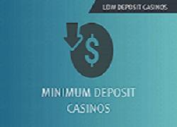 minimum deposit casinos australia