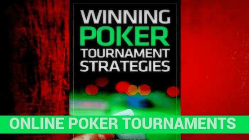 advanced MMT online poker tournaments strategy