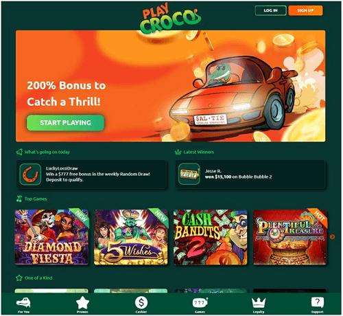 Play Croco Online Casino Games