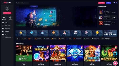 Woo Casino Games Online