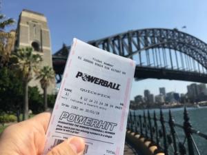 sydney woman wins $30 million powerball